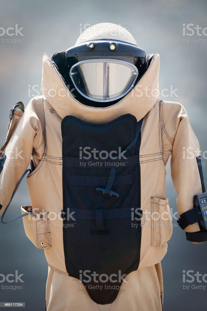 Bomb suit zbiór zdjęć royalty-free