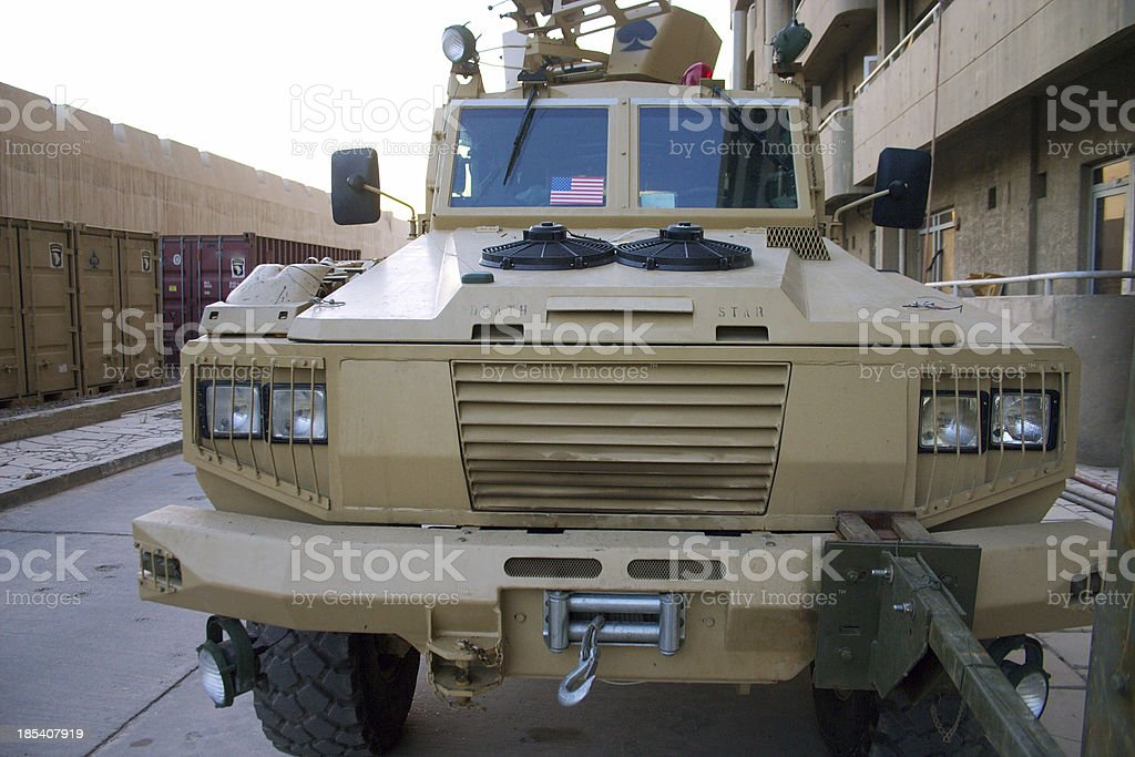 Bomb Truck royalty-free stock photo