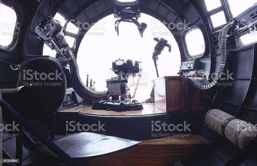 bombardier seat royalty-free stock photo