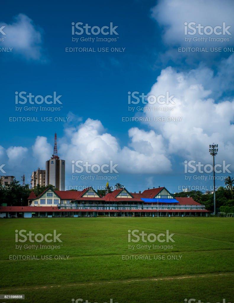 Bombay Gymkhana Cricket Pavallion stock photo