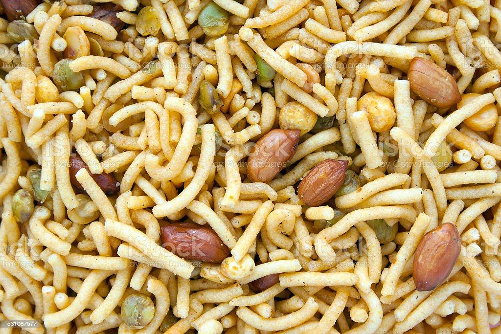 Bombay Mix stock photo