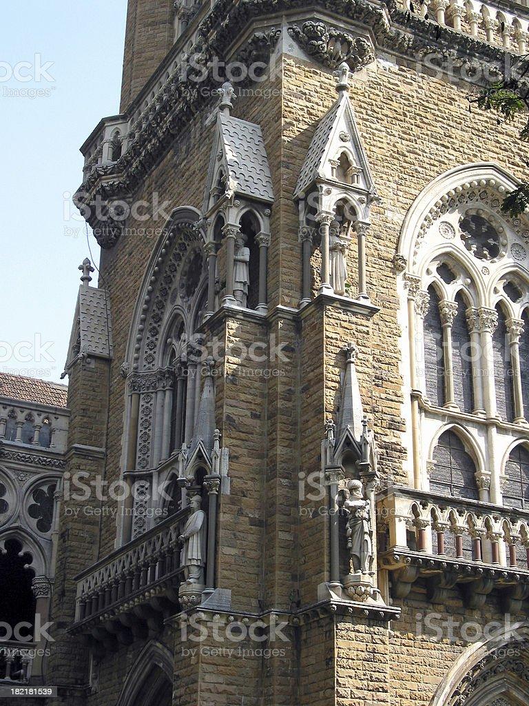 Bombay University Architecture stock photo