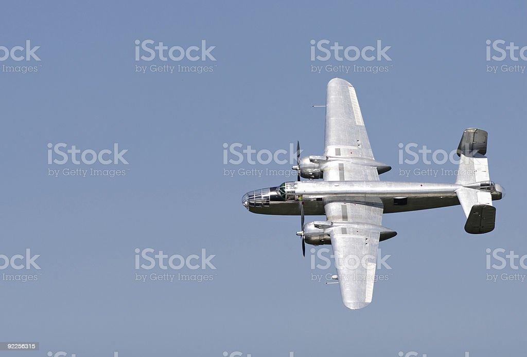 B - 25 Bomber - foto stock