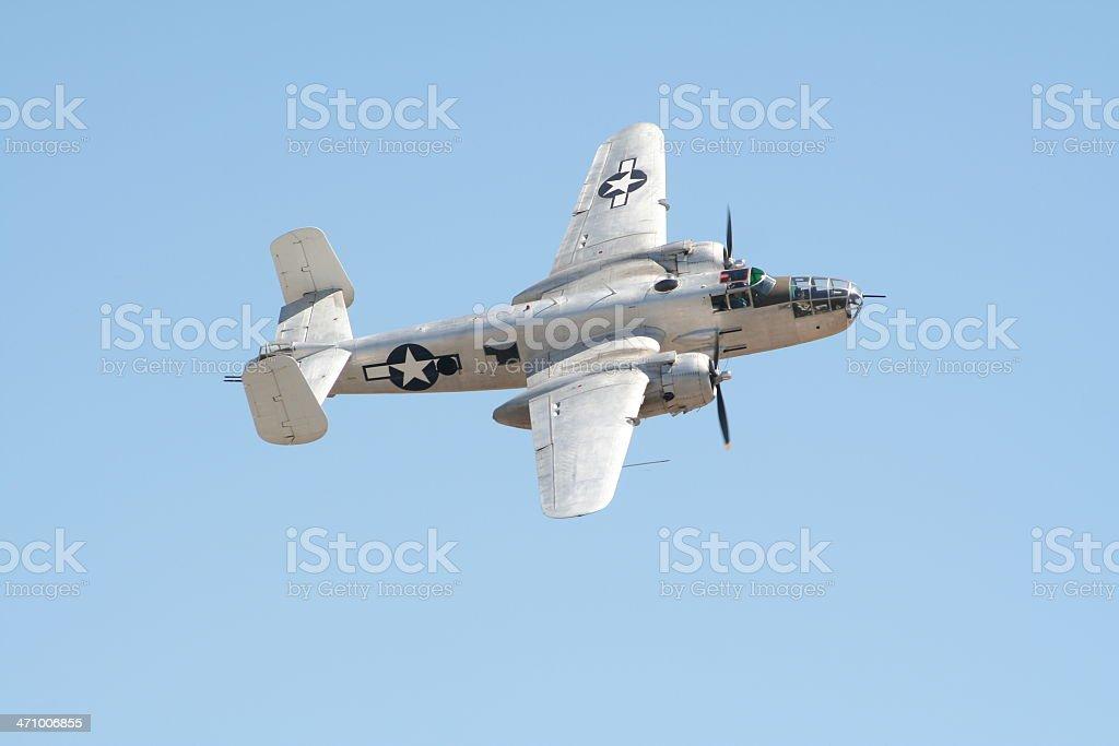 B-25 'MITCHELL' Bomber - WWII era royalty-free stock photo