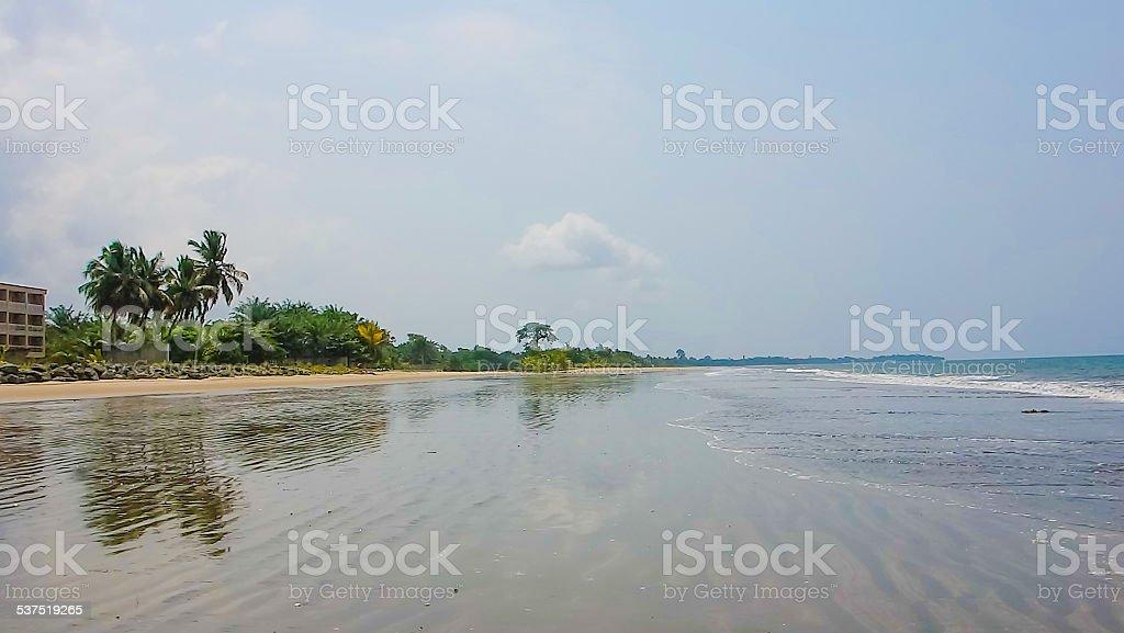 Bome beach stock photo