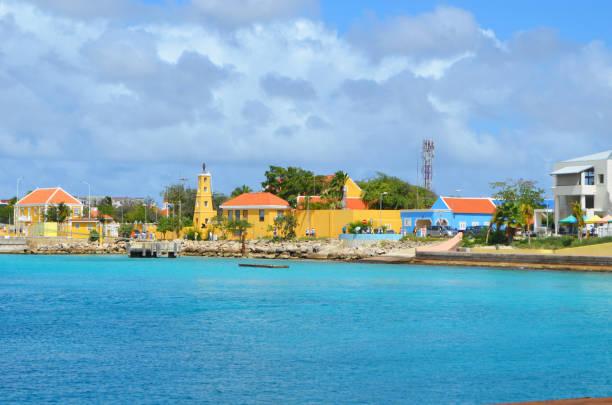 Bonaire Capital Beaded stock photo