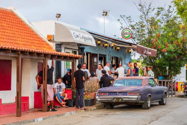 Bonaire, Kralendijk-Kaya Grandi stock photo