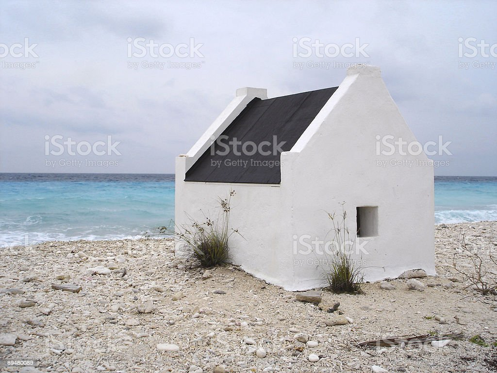 Bonaire slave housing​​​ foto