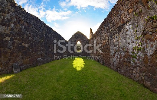 Bonamargy Friary, Ballycastle, Northern Ireland