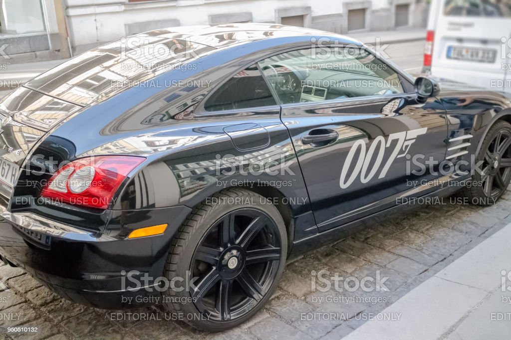 Bond automobile stock photo