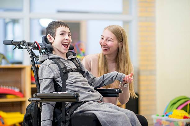 Bond Between Caregiver and Patient - foto de stock
