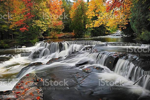 Photo of Bond Falls , Paulding Michigan USA