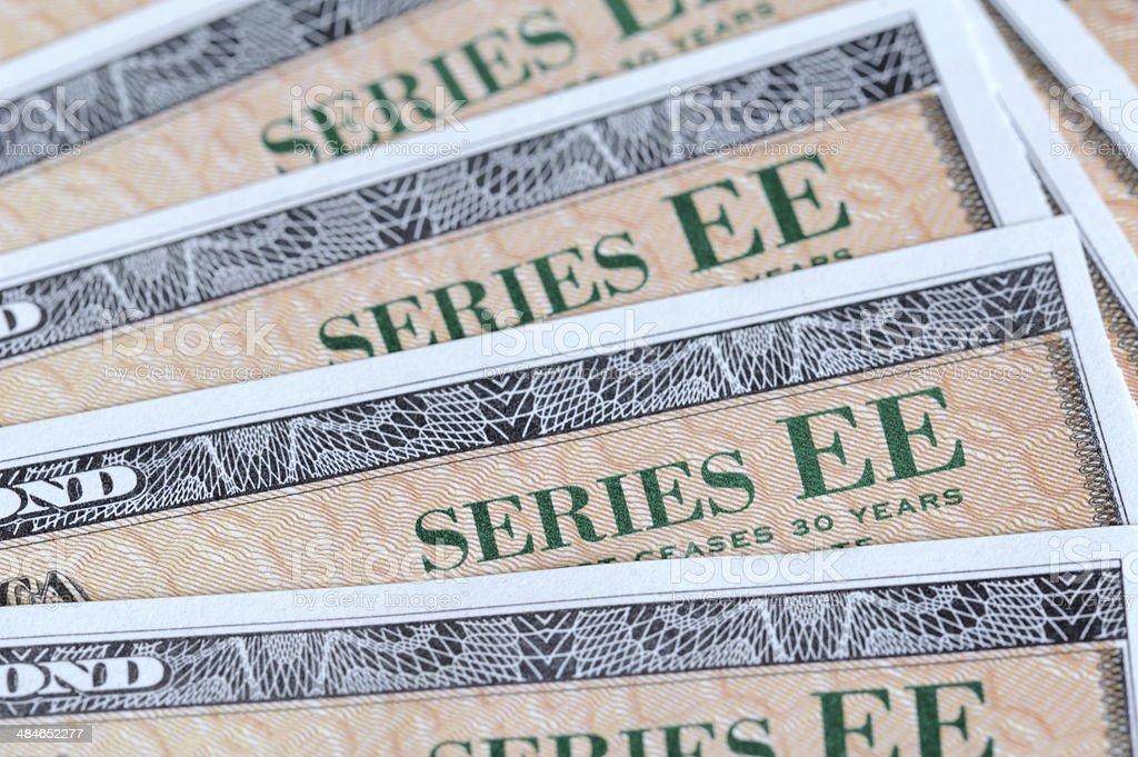 US Bond stock photo