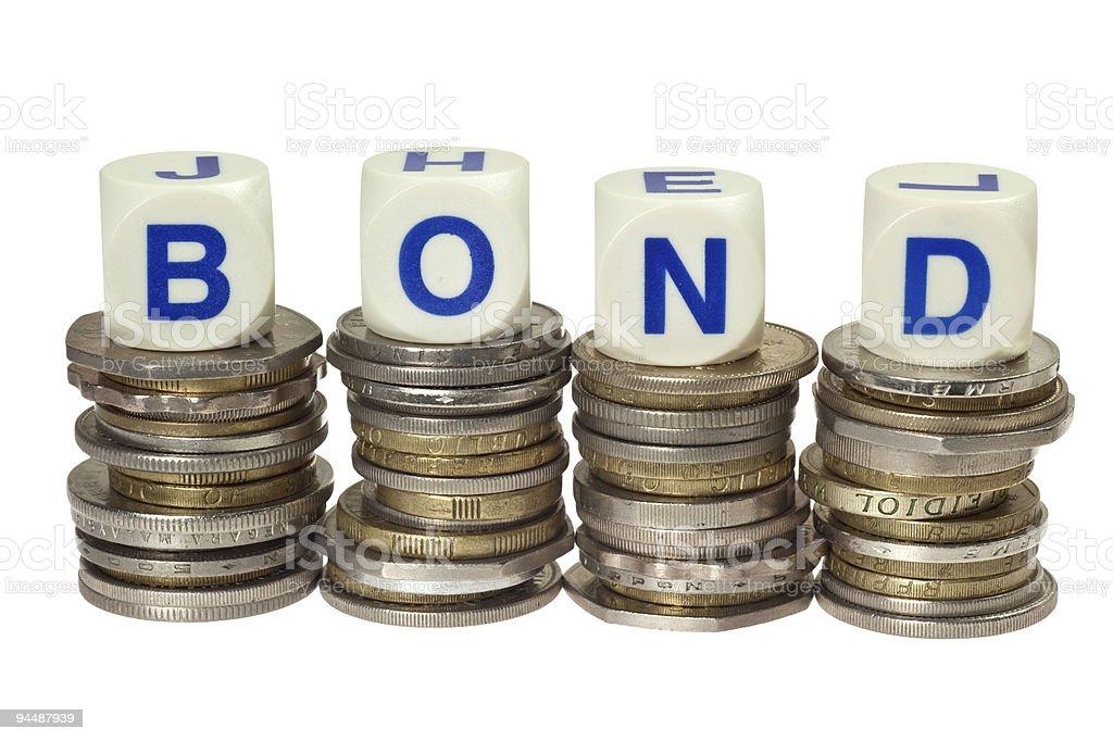 Bond royalty-free stock photo