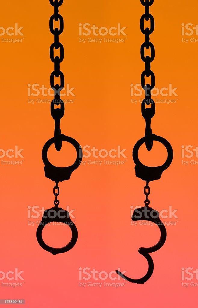 Bondage and Freedom royalty-free stock photo