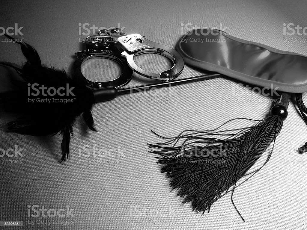 Bondage Toys royalty-free stock photo