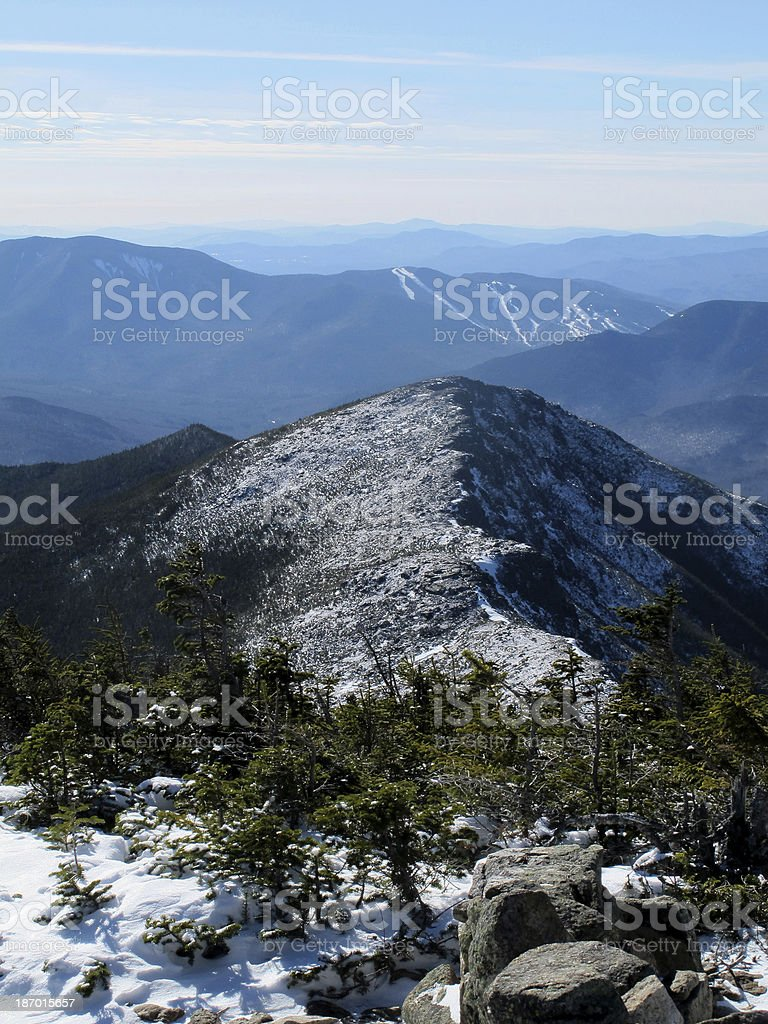 Bondcliff as Seen From Mt Bond stock photo