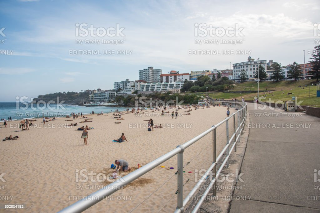 Bondi Beach Boardwalk stock photo
