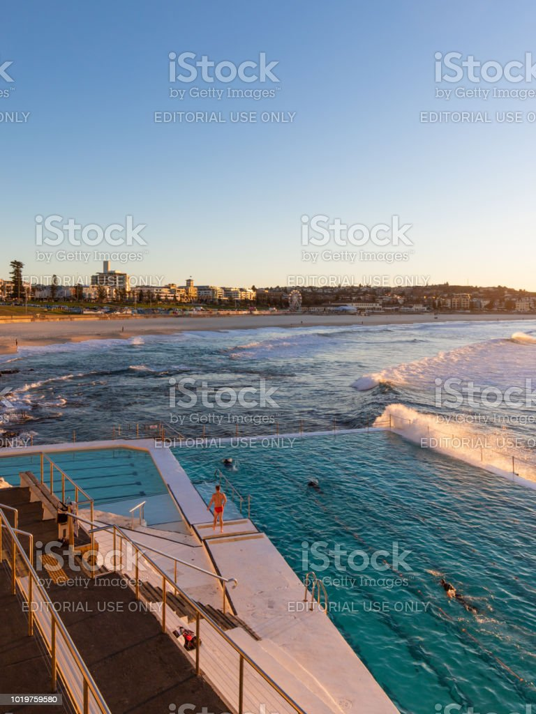 La plage de Bondi icebergs piscine - Photo