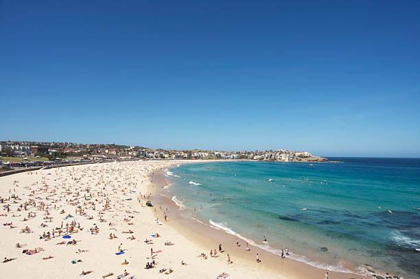 Bondi beach in Sydney, Australien – Foto