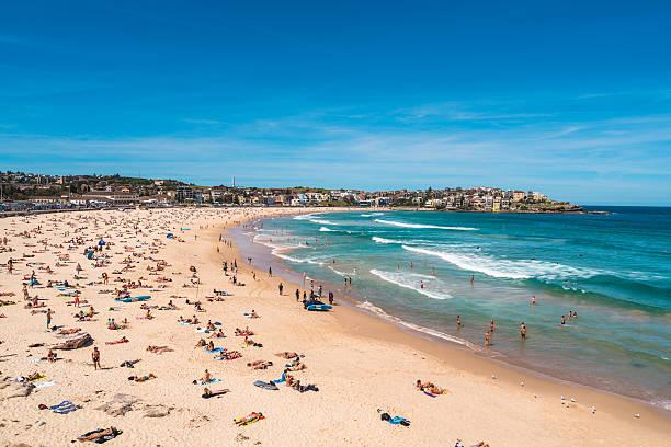 Playa de Bondi en Sydney, Australia - foto de stock