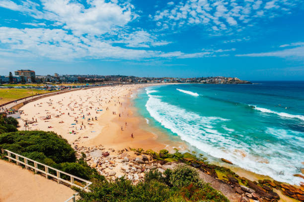 Bondi Beach in Sydney, New South Wales, Australia