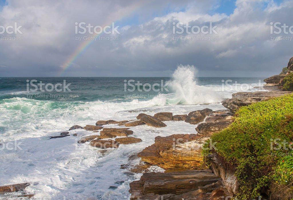 Bondi beach stock photo