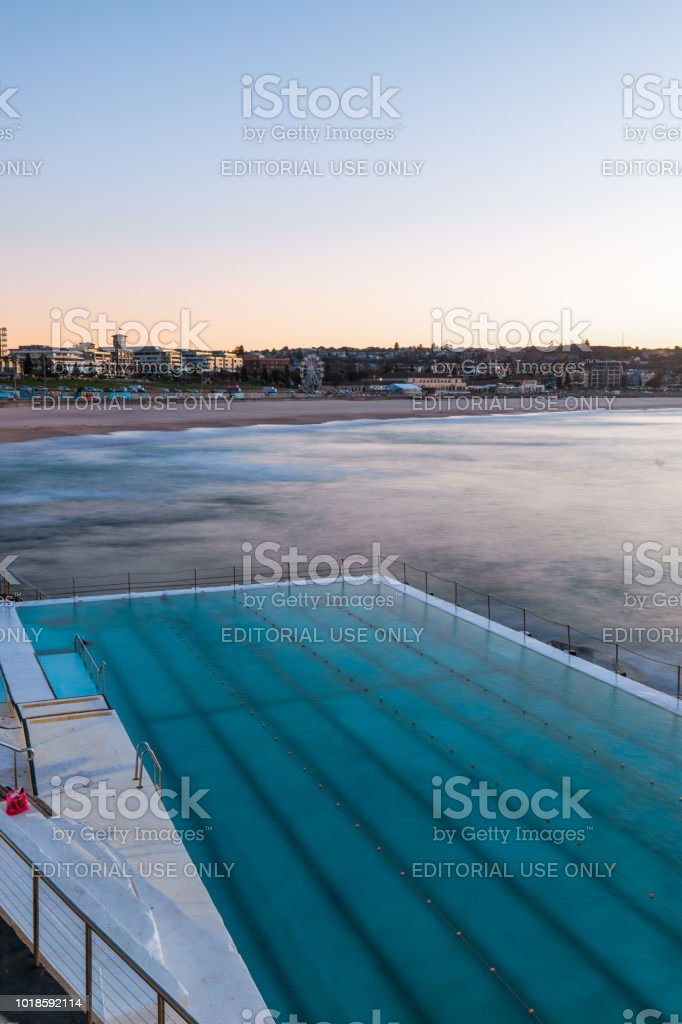 Bondi Beach Pool stock photo