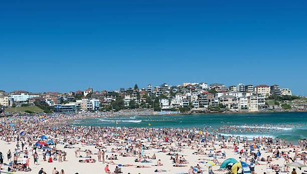 Bondi Beach, Sydney, Australia (XXXL) stock photo