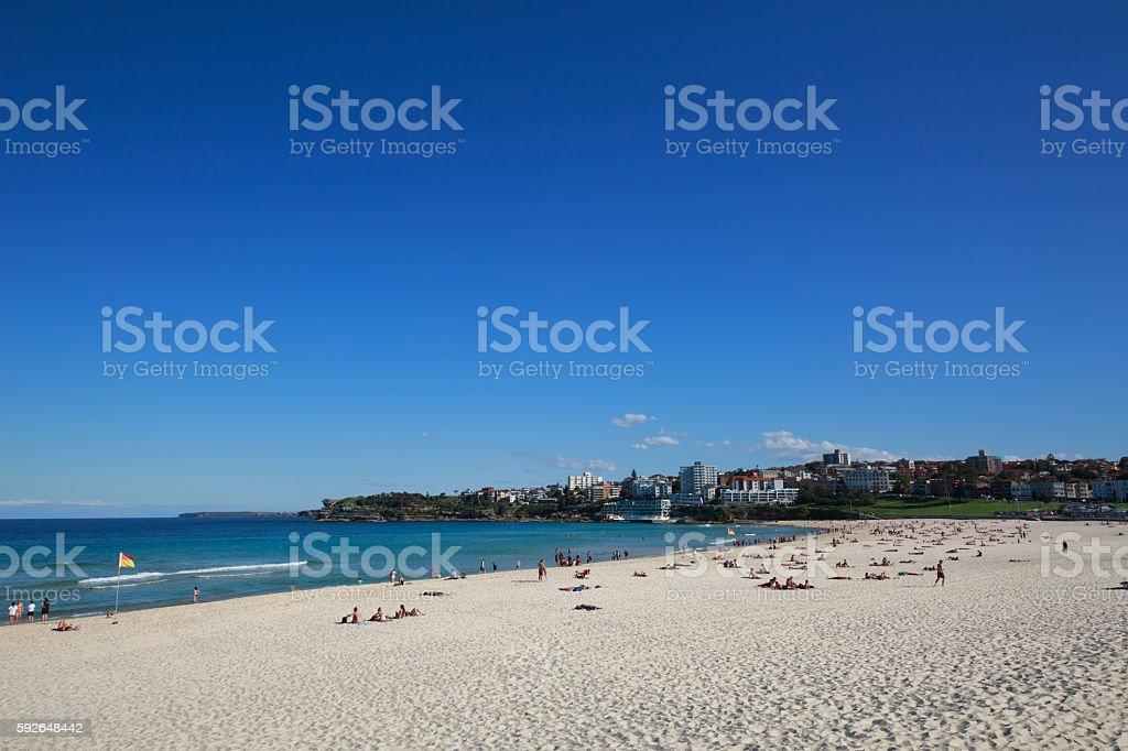 Bondi beach,sydney stock photo