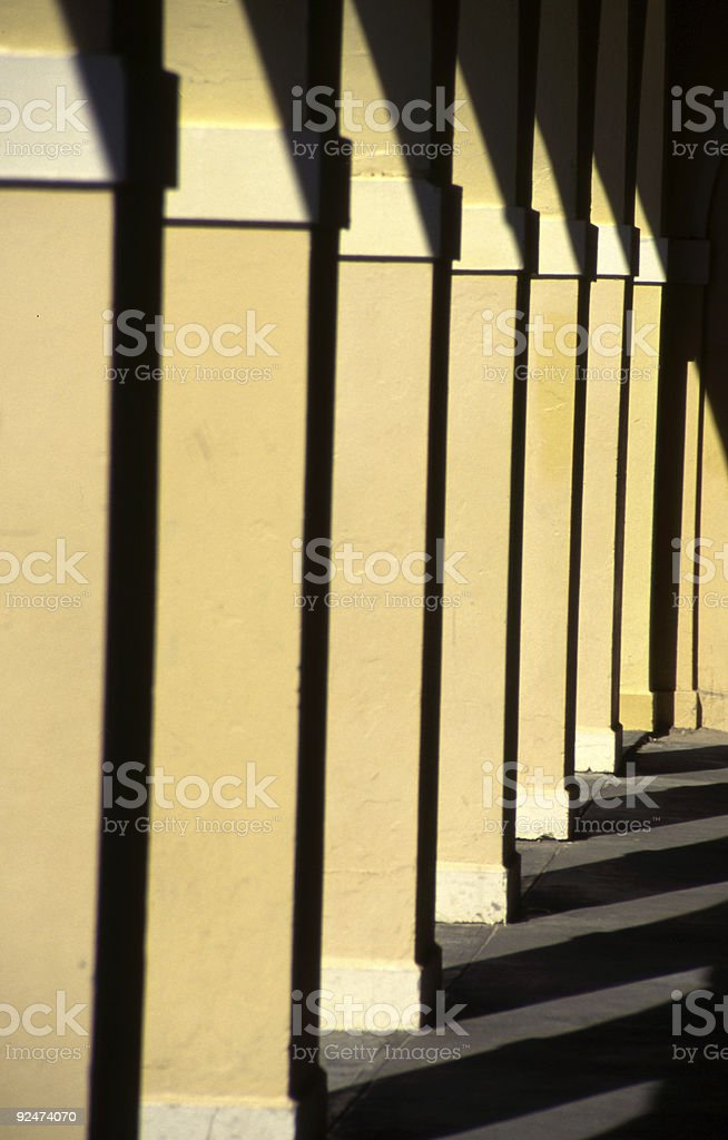 Bondi Columns royalty-free stock photo