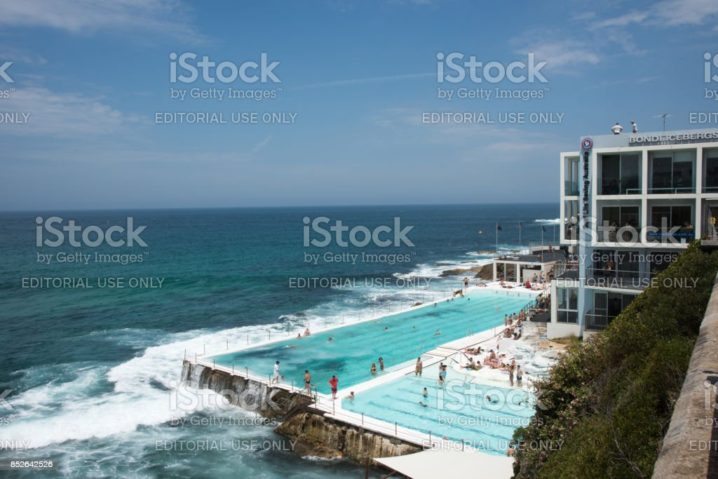 Bondi Icebergs stock photo