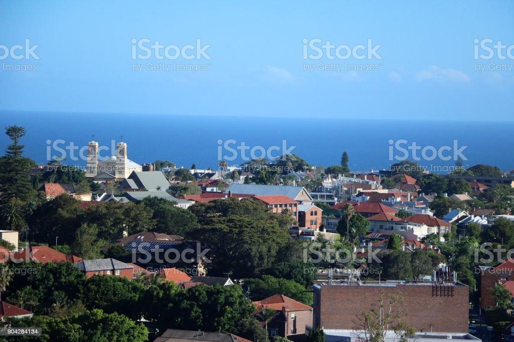 Bondi Junction in Sydney, New South Wales Australia stock photo