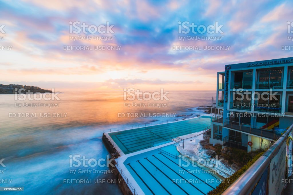 Bondi Sunrise stock photo