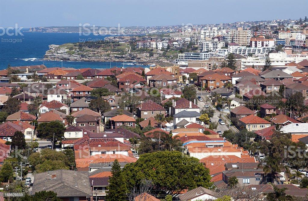 Bondi Sydney royalty-free stock photo