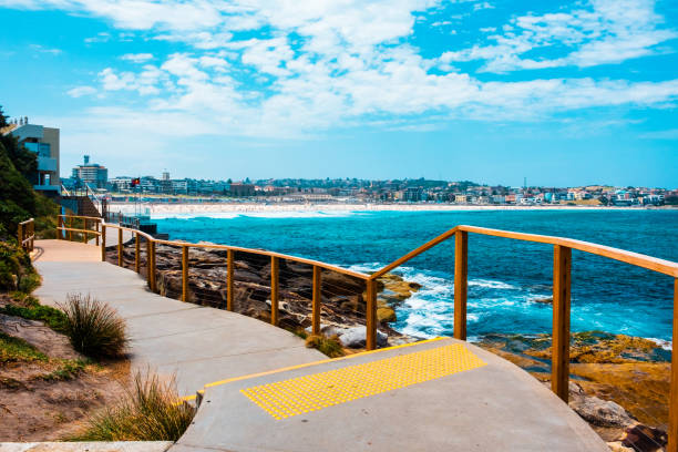Bondi to Coogee walk in Sydney, New South Wales, Australia
