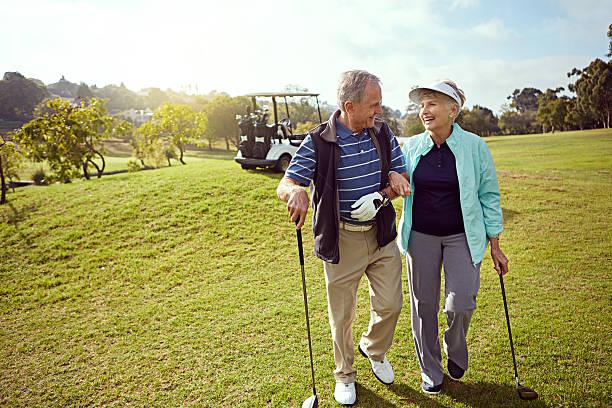 Liens sur le parcours de golf - Photo