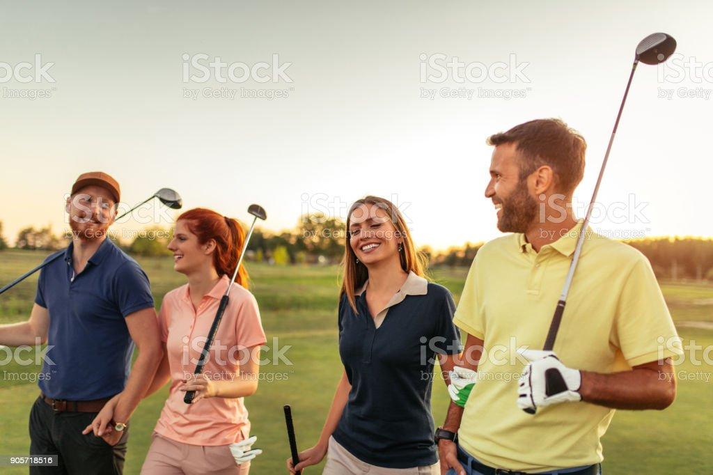 Verschweißung auf den Golfplatz – Foto