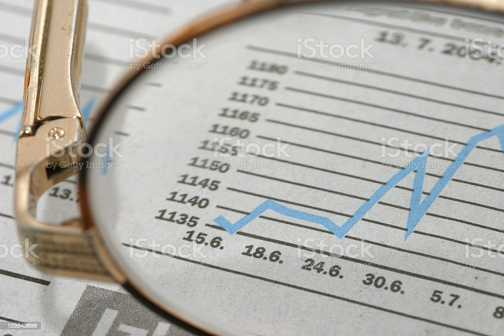 Bonds going up royalty-free stock photo