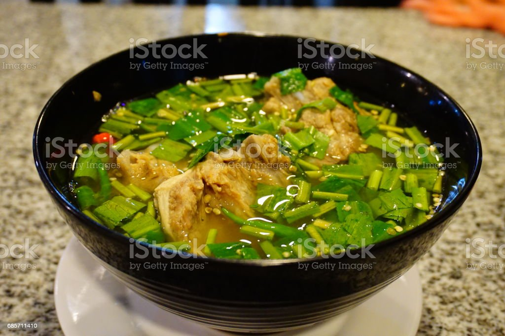 Bone and beef soup foto de stock royalty-free