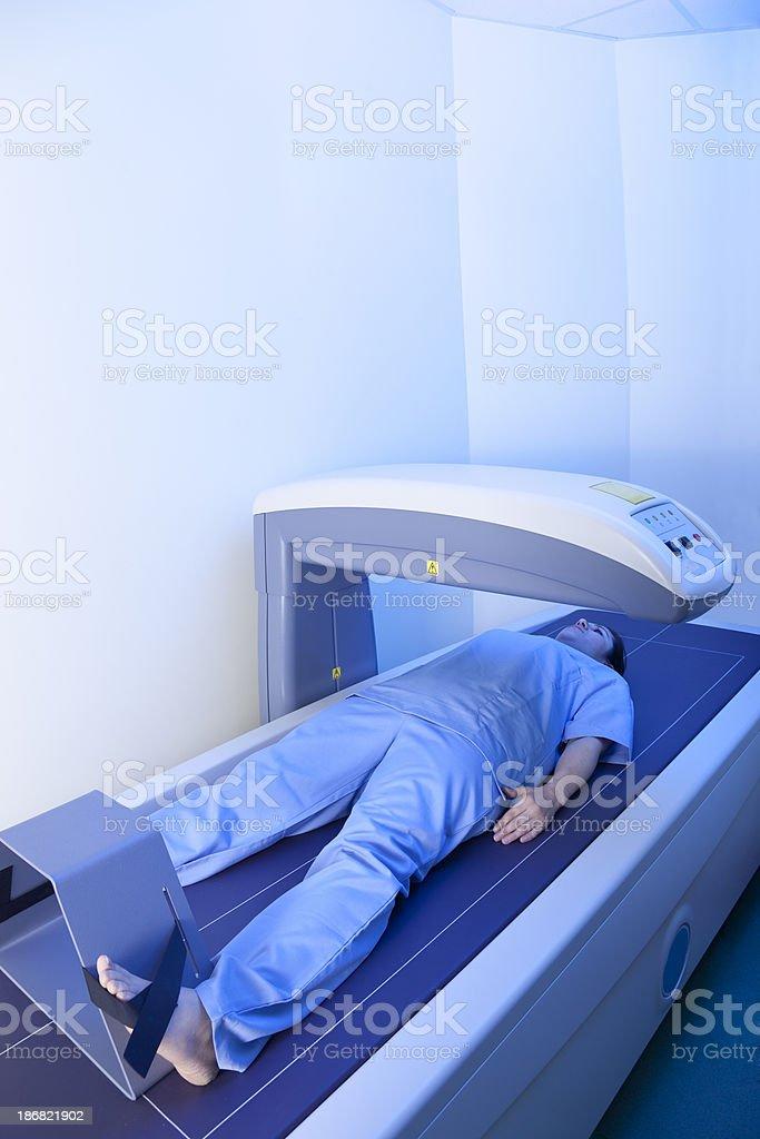 bone densitometry scanning stock photo