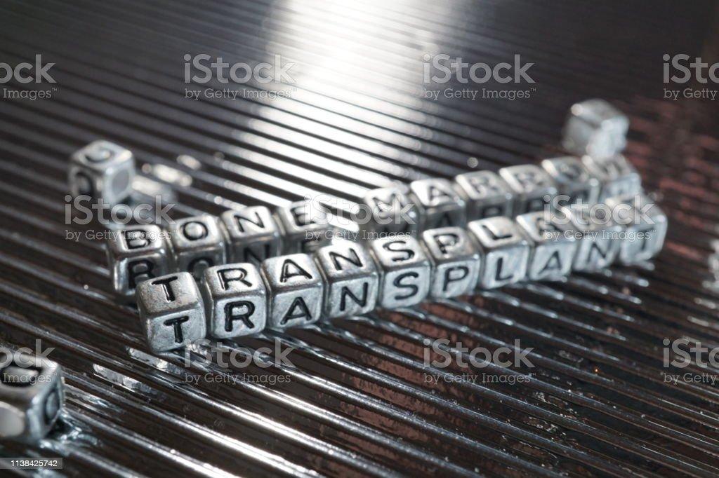 bone marrow transplant stock photo