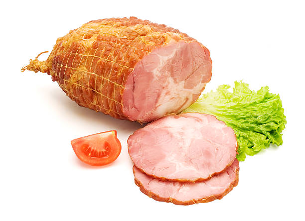 Boneless and tied ham