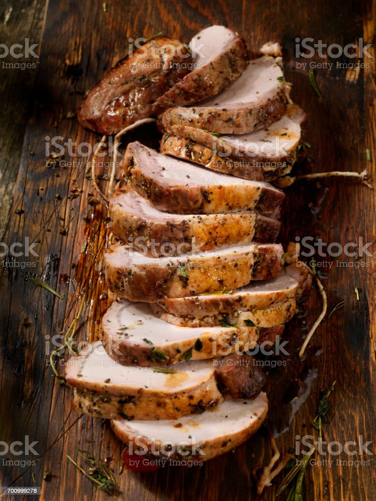 Boneless Pork Rib Roast stock photo