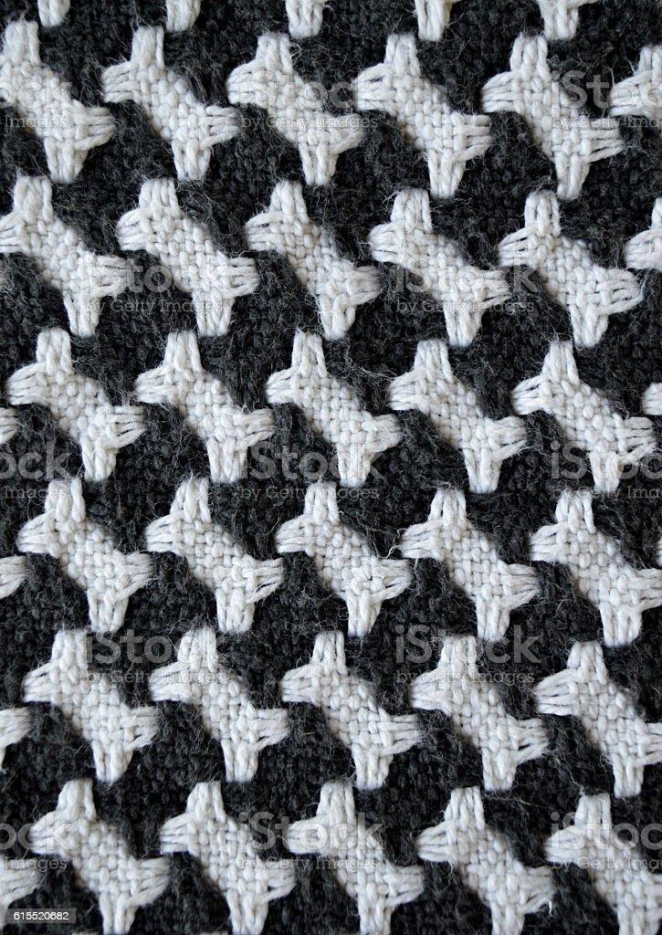 Fotografía de Bones Houndstooth Knitted Carpet Background y más ...