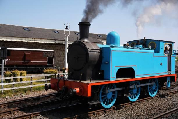 Bo'ness Steam Railway stock photo