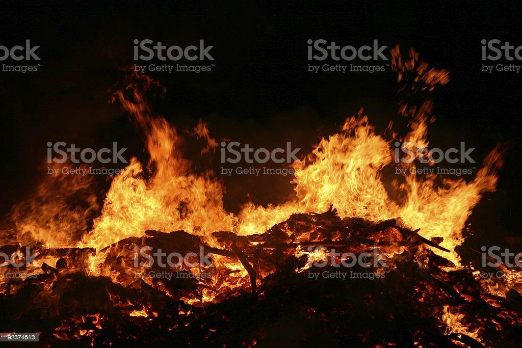 Bonfire 4 royalty-free stock photo