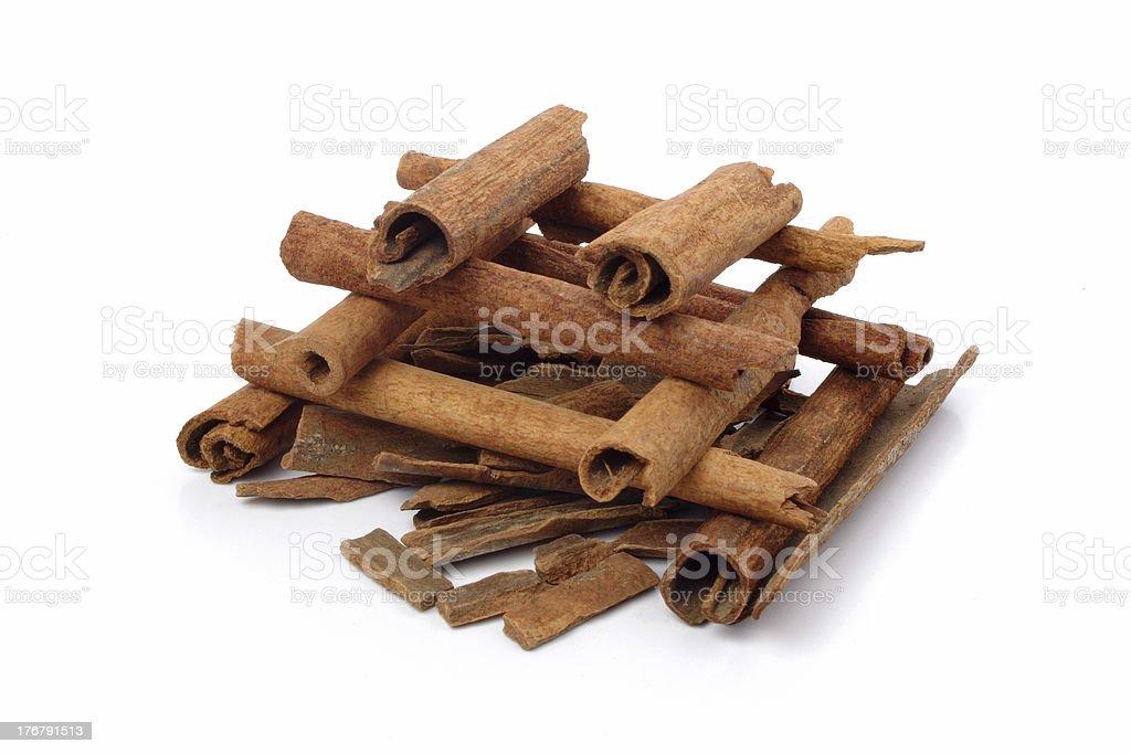 Bonfire - Cinnamon sticks royalty-free stock photo
