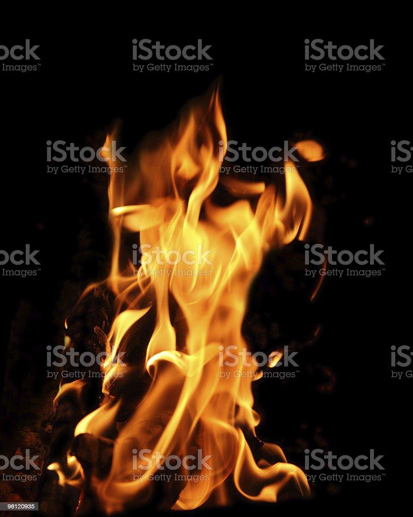 bonfire flame royalty-free stock photo