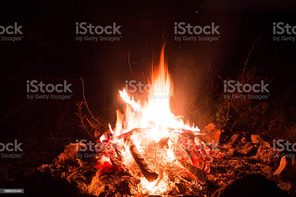 Bonfire night. royalty-free stock photo